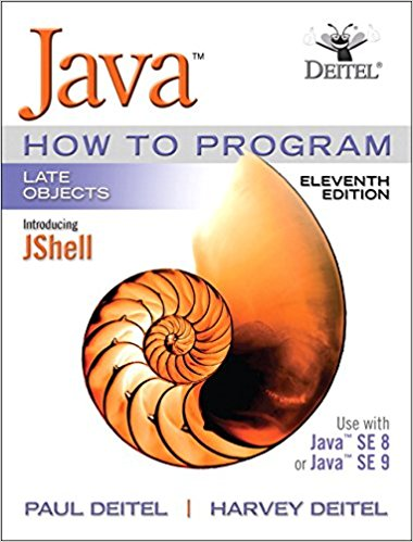 Java How to Program (11th Edition)